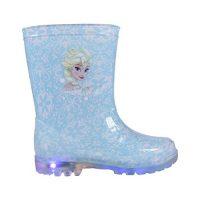 Botas de agua PVC Elsa Frozen con luz