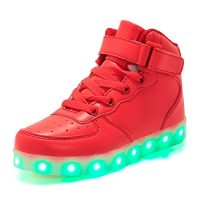 ByBetty Unisex Botines con luces USB