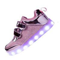 zapatos de niña con luces