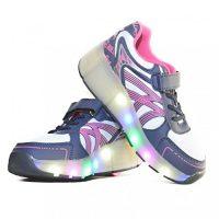 zapatos de luces con ruedas