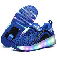 zapatos con ruedas y luces