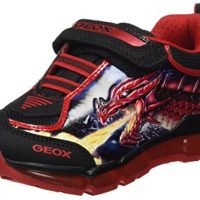 Geox J Android Boy A, Zapatillas Deportiva con Led