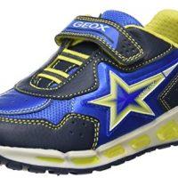 Geox J Shuttle B, Zapatillas para Niños con Luz