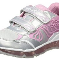 Geox Jr Android Girl, Zapatillas Niñas con Leds