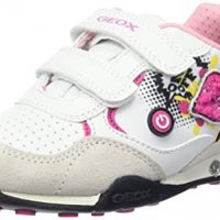 Geox Jr New Jocker Girl B – Zapatos con Luz para bebés