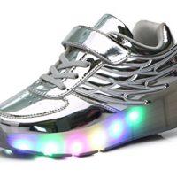 tenis de ruedas con luces