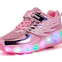 zapatillas de ruedas con luces
