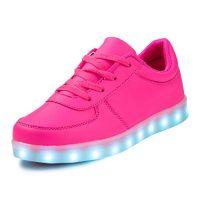 zapatillas de niña con luces