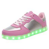 zapatillas con luces para niña