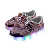 zapatillas de luces para niña