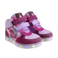 Zapatillas botas deportivas con luz Trolls Poppy-T.32