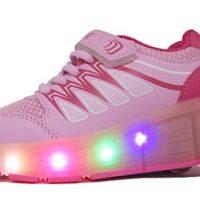zapatos de ruedas y luces