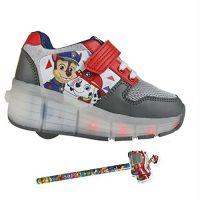 Zapatillas con ruedas y luces Patrulla Canina + Regalo