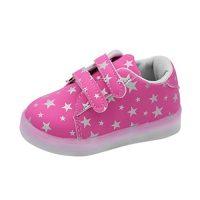 hunpta bebé Fashion zapatillas LED luminoso niño niños zapatos de Casual colorido luz