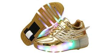 aprender a patinar con zapatillas con ruedas tipo heelys