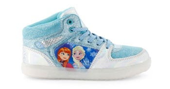 zapatillas de frozen con luces led
