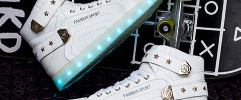zapatillas luces adultos